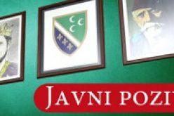 Javni poziv za polaganje testa o poznavanju bosanskog jezika
