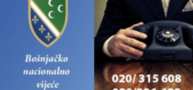 Za informacije o početku nastave na bosanskom jeziku javiti se u BNV