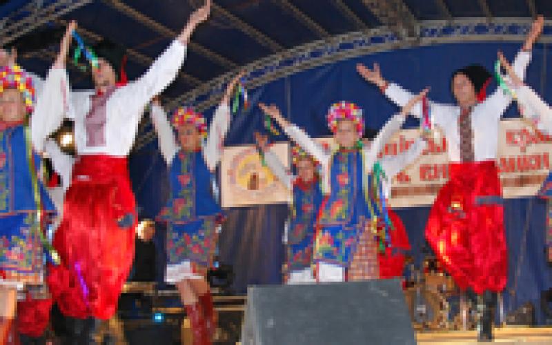 Društva koja neguju ukrajinsku kulturu nastupila u Ukrajini