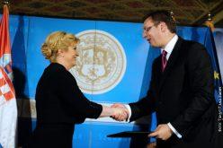Potpisana Deklaracija o odnosima Srbije i Hrvatske