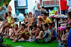 Učenje jezika manjina na novosadskoj plaži