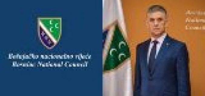 Čestitka predsednika Bošnjačkog nacionalnog vijeća