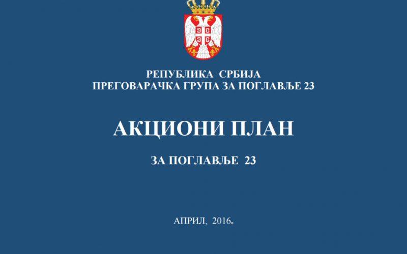 Akcioni plan za Poglavlje 23 – položaj nacionalnih manjina