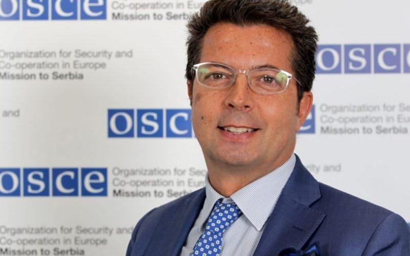 Andrea Oricio – novi šef Misije OEBS-a u Srbiji