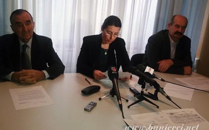 Održana konferencija za medije u Nacionalnom savitu