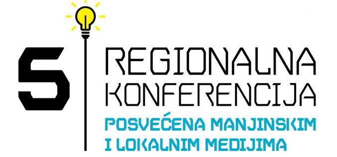Najava V regionalne konferencije posvećene manjinskim i lokalnim medijima