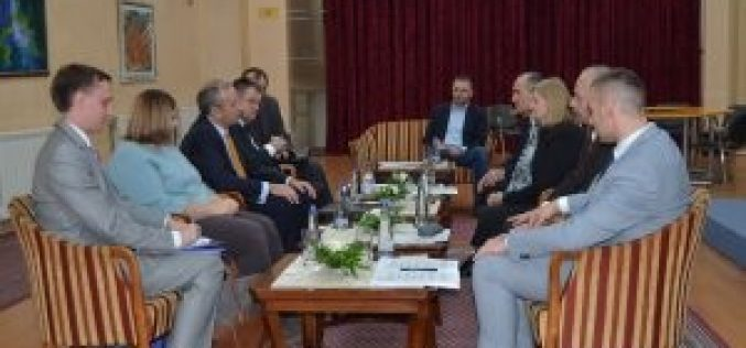 Ambasador EU u posjeti Bošnjačkom nacionalnom vijeću