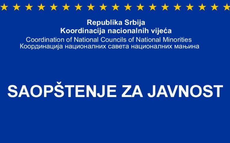 (Srpski) Manjine ubuduće tretirati kao legitimnog partnera a ne kao objekat