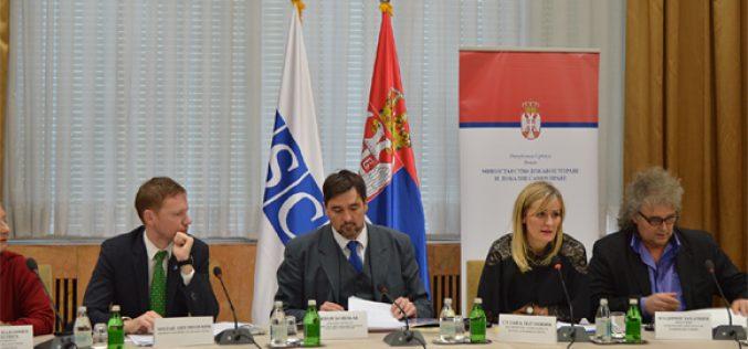 (Srpski) Okrugli sto o Nacrtu zakona o izmenama i dopunama Zakona o zaštiti prava i sloboda nacionalnih manjina