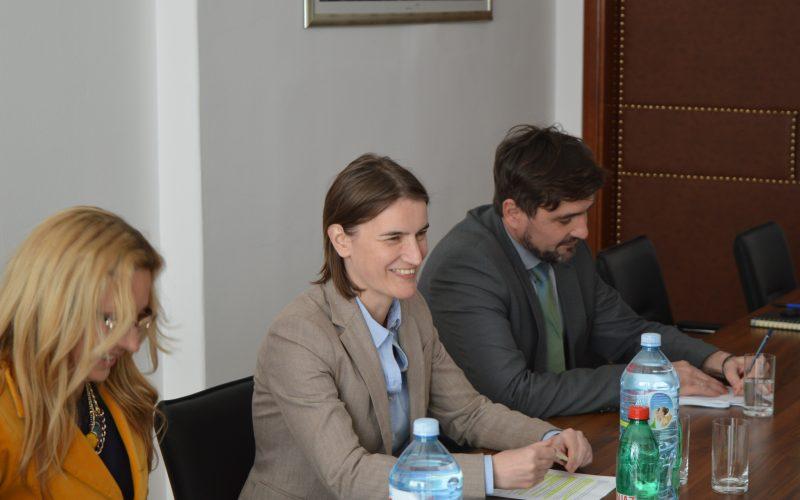 Sastanak ministarke Ane Brnabić sa predstavnicima nacionalnih saveta nacionalnih manjina