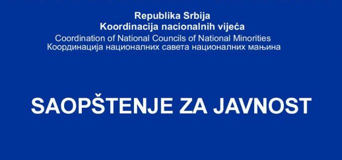 Uvažen prigovor Koordinacije nacionalnih saveta na postupak izbora člana REM-a