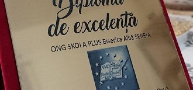 Škola plus dobitnik plakete za izuzetnost