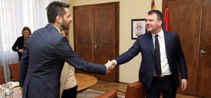(Srpski) Mirović primio predsednika Nacionalnog saveta grčke nacionalne manjine