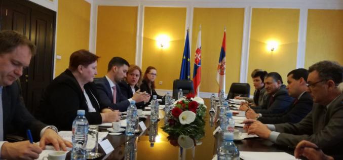 Oficijalna poseta slovačkog državnog sekretara Ministarstva inostranih i evropskih poslova