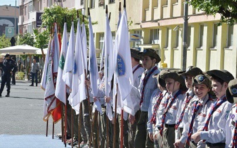 Sandžački izviđači predali raport povodom Dana zastave