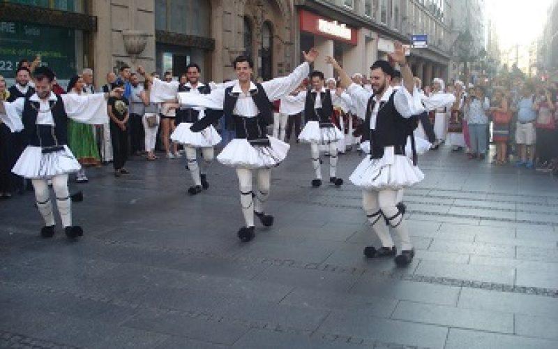 KUD ΕΛΛΗΝΙΚΗ ΠΑΡΑΔΟΣH u srcu Beograda