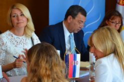 (Srpski) Paunović sa Delegacijom Parlamentarne skupštine Saveta Evrope