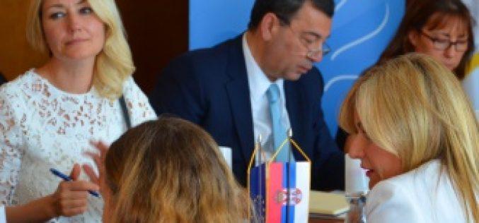 Paunović sa Delegacijom Parlamentarne skupštine Saveta Evrope