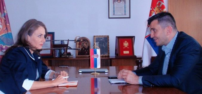Sastanak poverenice Janković sa ministrom Đorđevićem