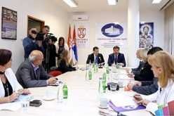 (Srpski) Bošnjak sa predstavnicima Nacionalnog saveta hrvatske nacionalne manjine