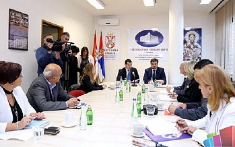 Bošnjak sa predstavnicima Nacionalnog saveta hrvatske nacionalne manjine