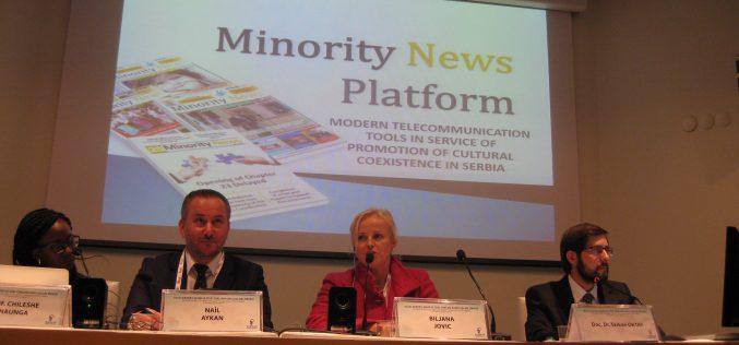 """Medijska platforma """"Minority News"""" predstavljena na međunarodnom samitu civilnog društva u Istanbulu"""