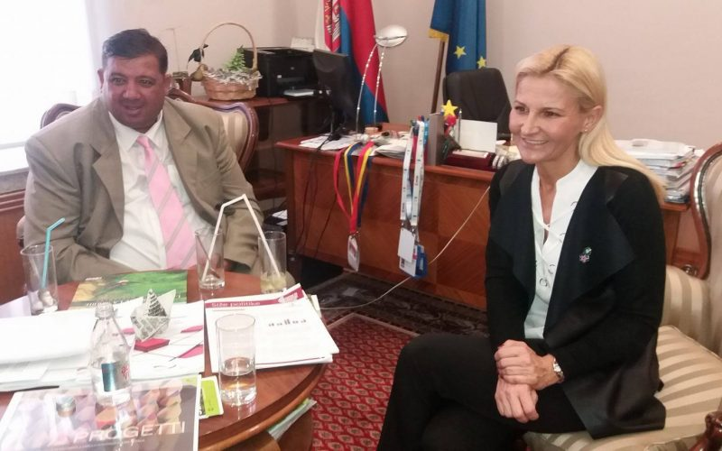 Sastanak Tanje Miščević i predstavnika Nacionalnog saveta Roma