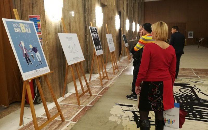 Izložba u okviru projekta Podrška EU inkluzivnom društvu
