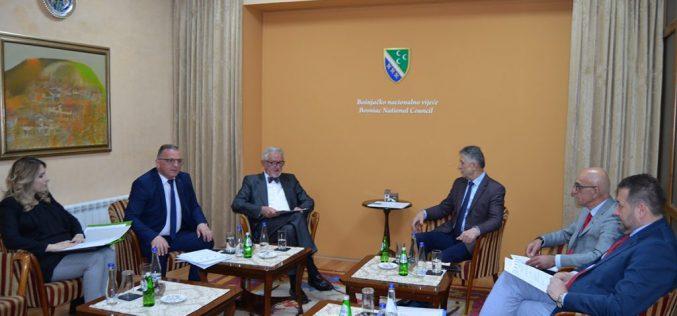(Srpski) Održana prva sjednica Ureda za koordinaciju bošnjačkih vijeća