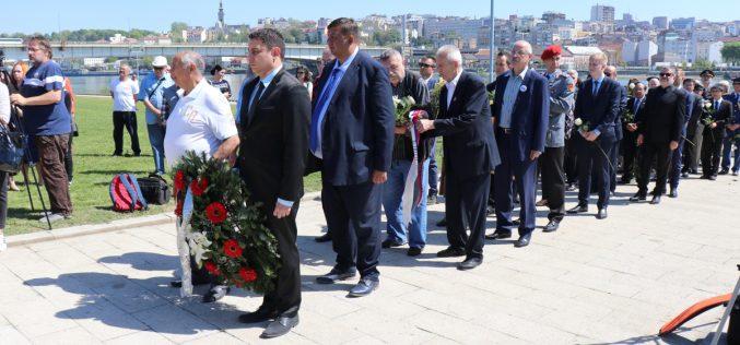 (Srpski) Na Starom sajmištu obeležen Dan sećanja na žrtve Holokausta