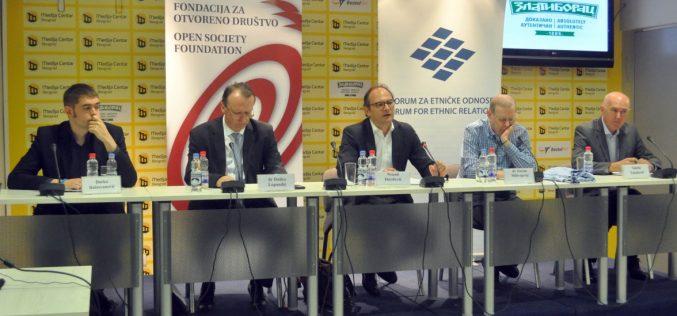 """Predstavljena publikacija """"Izazovi manjinske politike u bilateralnoj i regionalnoj saradnji"""""""
