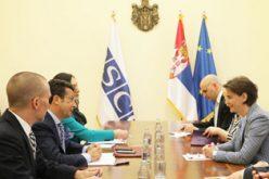 Šef misije OEBS u Srbiji pohvalio Srbiju zbog unapređenja zakonskih okvira u oblasti nacionalnih manjina