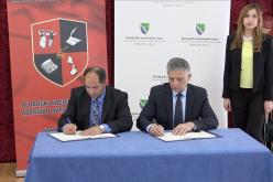 (Srpski) Potpisan Memorandum o saradnji između Bošnjačkog nacionalnog vijeća i Albanskog nacionalnog vijeća