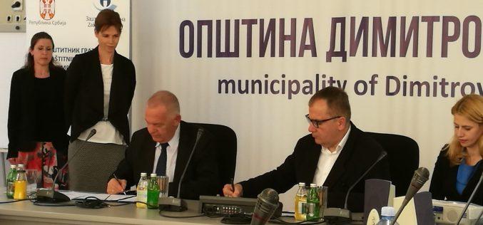 Zaštitnik građana i bugarski ambasador potpisali Sporazum o bespovratnim sredstvima
