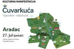 """Aradačke meškarke i herovke na kulturnoj manifestaciji """"Čuvarkuća"""" 27. jula u Aradcu"""