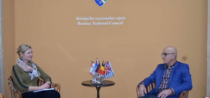 Predsjednik BNV primio predstavnike OEBS-a