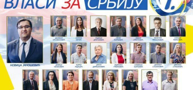 """""""Vlasi za Srbiju"""" pobedili u Žagubici"""