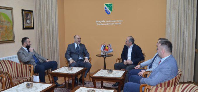 (Srpski) Predsjednik Kongresa Bošnjaka svijeta posjetio BNV