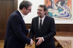 Sastanak predsednika Vučića i Tomislava Žigmanova