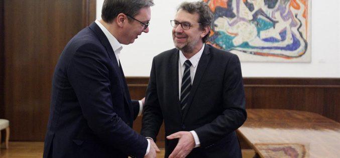 (Srpski) Sastanak predsednika Vučića i Tomislava Žigmanova