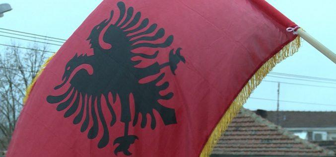 "(Srpski) Albanci obeležili nacionalni praznik ""Dan Zastave"""