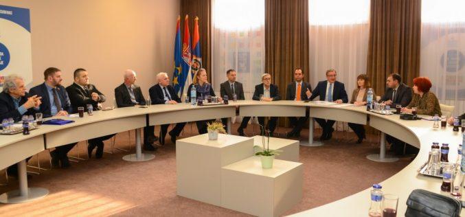 (Srpski) Optimističan početak saradnje s novoizabranim predsednicima nacionalnih saveta nacionalnih manjina