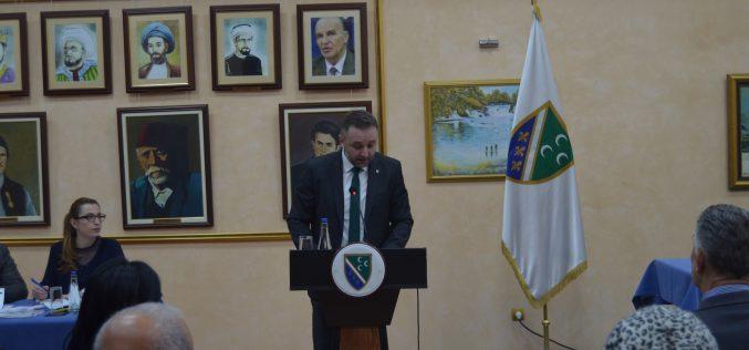 (Srpski) Druga sjednica Bošnjačkog nacionalnog vijeća
