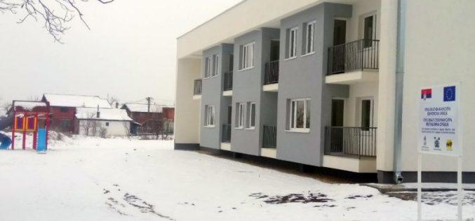 (Srpski) Stanovi za dvanaest romskih porodica u Svilajncu