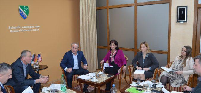 (Srpski) Održana redovna sjednica Izvršnog odbora u Bošnjačkom nacionalnom vijeću