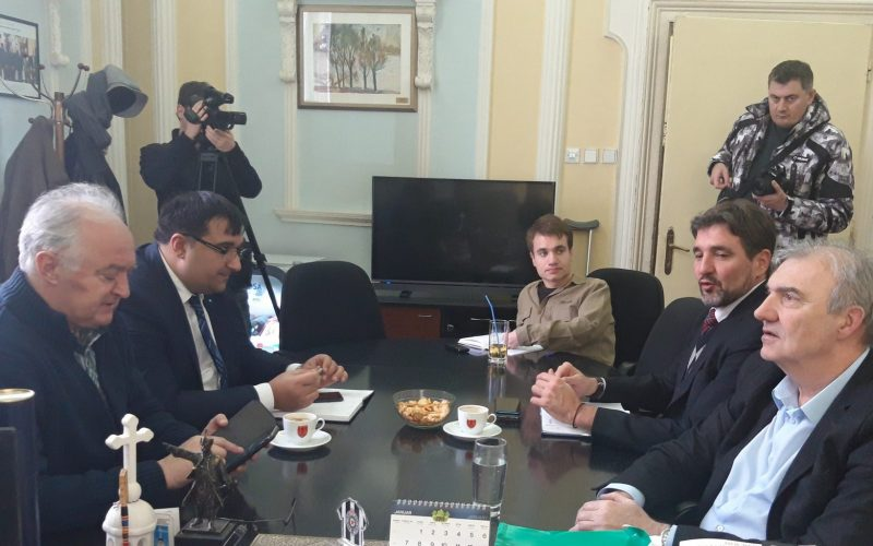 Bošnjak sa predstavnicima Nacionalnog saveta Vlaha