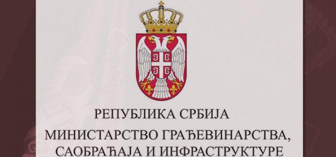 (Srpski) Veb-sajt Ministarstva građevinarstva i na romskom jeziku