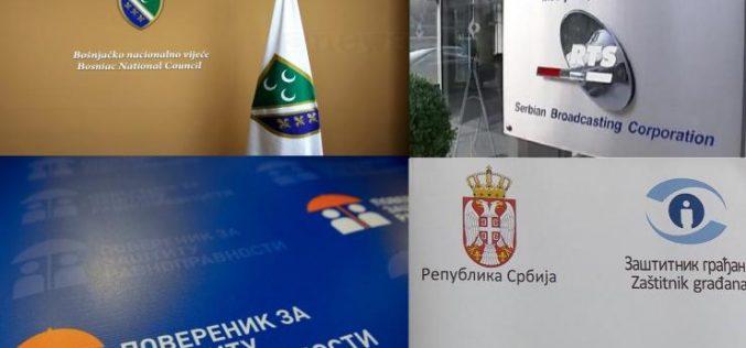 (Srpski) Bošnjačko nacionalno vijeće uputilo pritužbe nezavisnim tijelima