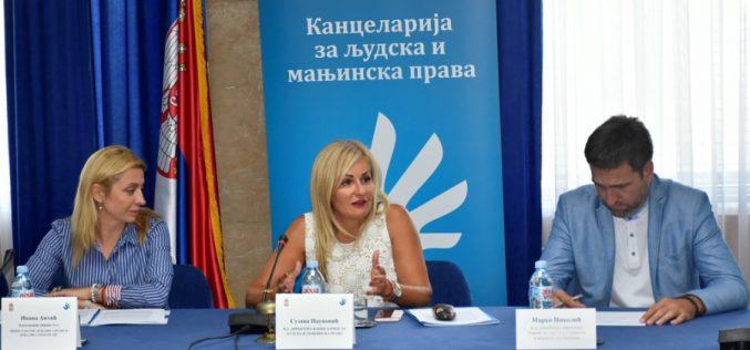 Paunović: Kontinuirano i dosledno sprovodimo mere kojima unapređujemo manjinska prava