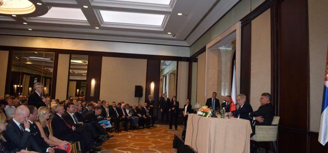 (Srpski) Susret predsednika Češke Miloša Zemana sa sunarodnicima